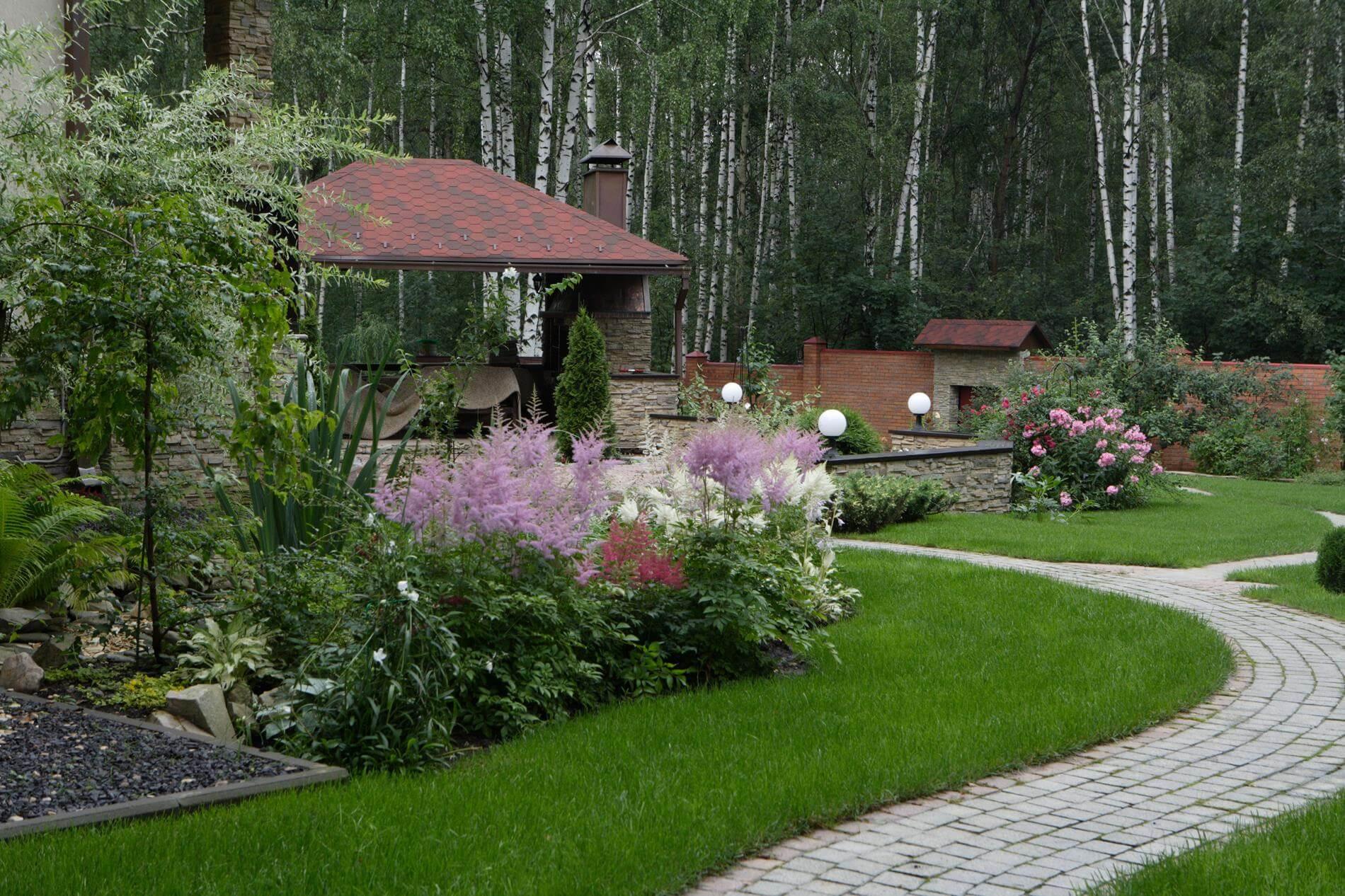 Ландшафтный дизайн в стиле прованс фото